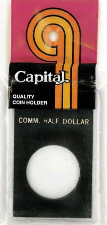 Capital Holder - Commemorative Half Dollar, 2x3