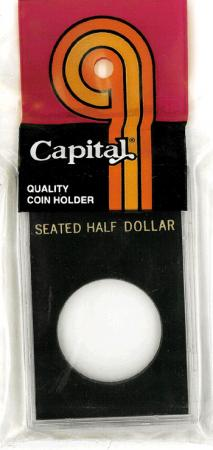 Capital Holder - Seated Half Dollar, 2x3