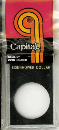 Capital Holder - Eisenhower Dollar, 2x3