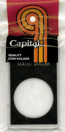 Capital Holder - Seated Dollar, 2x3