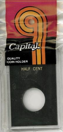 Capital Holder - Half Cent, 2x3