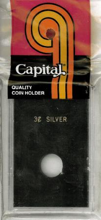 Capital Holder - 3c Silver, 2x3