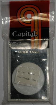 Capital Holder - Silver Eagle, 2x3