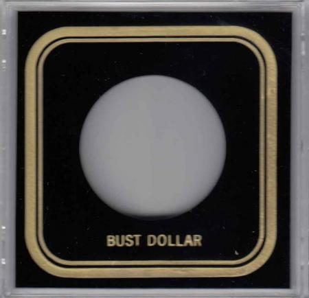 Capital Holder - Bust Dollar, 3.3x3.3