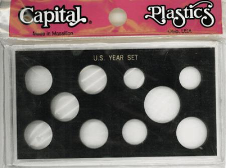 Capital Holder - U.S. Year Set (with Small Dollar and 5 Quarters)