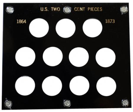 1 Capital Holder 5X6 US SILVER DOLLARS Black Plastic Case 5 Holes No Dates NEW