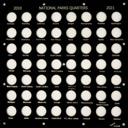 Capital Holder - National Park Quarters Square (56 Slots)