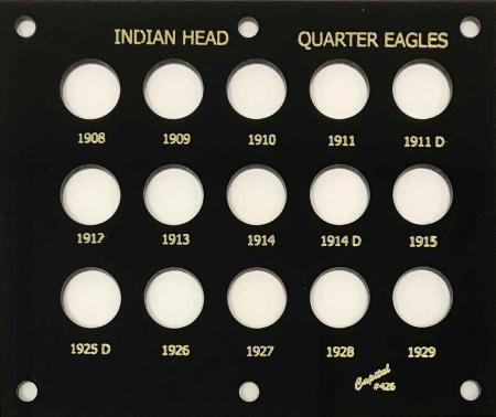 Capital Holder - Indian Head Quarter Eagles