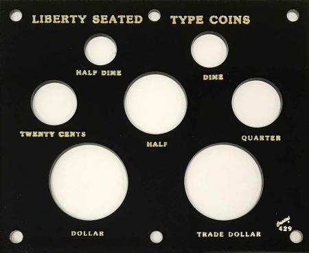 Capital Holder - Liberty Seated Type Coins