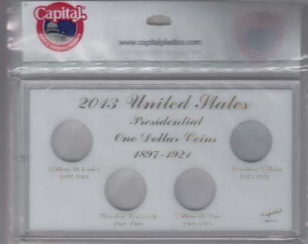 Capital Holder - Presidential Dollars 2013 Date Set