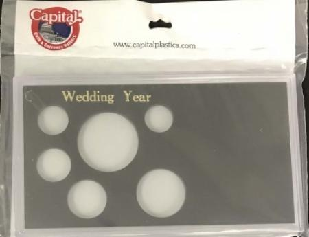 Capital Holder - Wedding Year (Cent through Small Dollar), Meteor