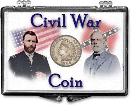 3 Edgar Marcus Snaplock Holder For War Nickel Card and Sleeve Coins Set Display