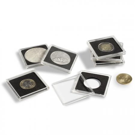Lighthouse Quadrum 2x2 Coin Holders -- 17mm -- 10 pack