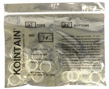 Kointain - Direct Fit - 19mm (Small Cent)