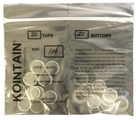 Kointain - Direct Fit - 17.9mm (Dime)
