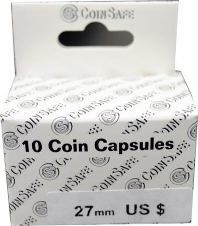 Coin Safe Capsule - Small Dollar Size - 10 pack