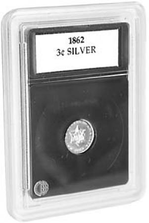 Coin World Premier Coin Holders -- 14.0 mm --Three Cent Silver