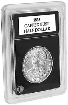 Coin World Premier Coin Holders -- 32.5 mm -- Half Dollars (1794-1836)