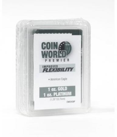 Coin World Premier Coin Holders -- 32.7 mm -- 1 oz Gold/Platinum Eagle, Gold Buffalo