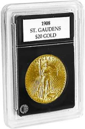 Coin World Premier Coin Holders -- 33.4 mm -- Smaller $20 Gold
