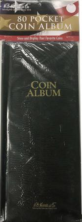 HE Harris Mini Coin Album - 80 Pocket