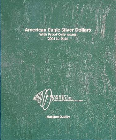 Intercept Shield Album: American Eagle Silver Dollars 2004-2012 (w/PR)