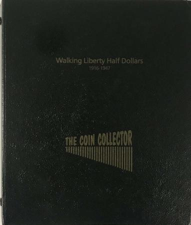 The Coin Collector Album Walking Liberty Half Dollars
