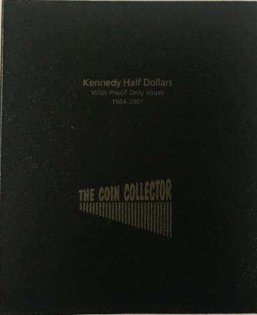 The Coin Collector Album Kennedy Half Dollars