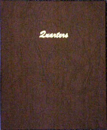 Dansco Album 7137: Quarters Plain - 4 Blank Pages / 96 Ports