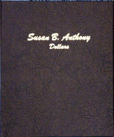 Dansco Album 7180: Susan B. Anthony Dollars, 1979-1999