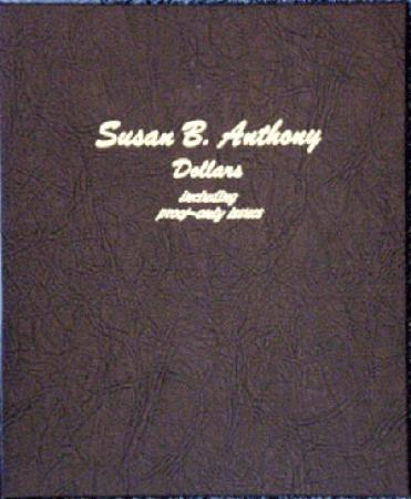 Dansco Album 8180: Susan B. Anthony Dollars w/ Proofs, 1979-1999