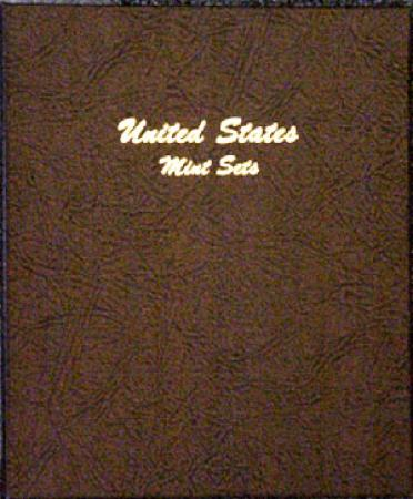 Dansco Album 7092: US Mint Sets