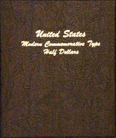 Dansco Album 7061: Modern Commemorative Type Half Dollars 1982-Date