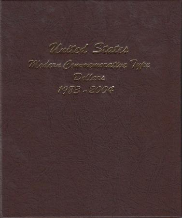 Dansco Album 7062 Vol 1: Modern Commemorative Type Dollars 1983-2004