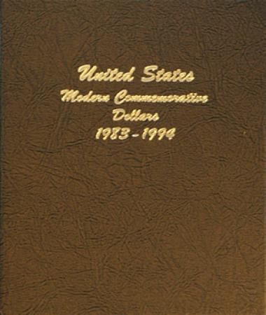 Dansco Album 7065 Vol 1: Modern Commemorative Dollars, 1983-1994