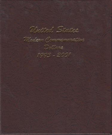 Dansco Album 7065-2: Modern Commemorative Dollars, 1995-2001