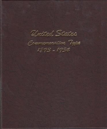 Dansco Album 7094: US (Classic) Commemorative Type Set, 1893-1954