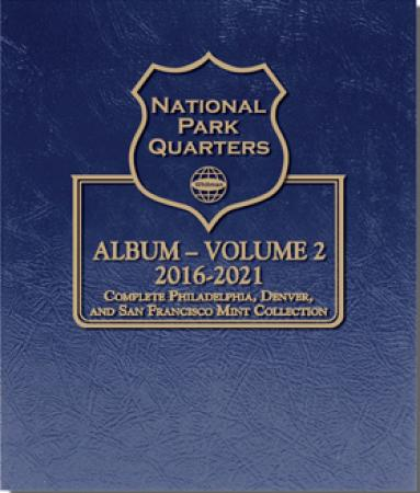 Whitman Album National Parks Quarters - PDS Vol 2 - 2016-2021