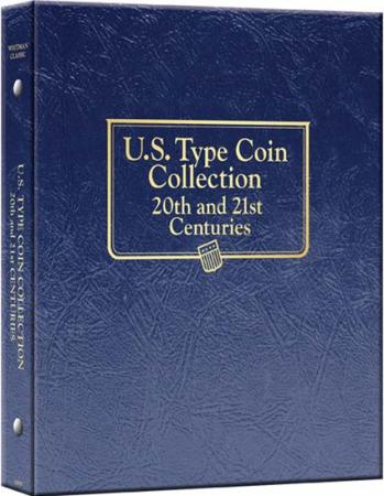 Whitman Album US Type Coin Collection 20th and 21st Centuries
