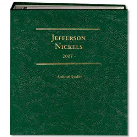 Littleton Album Jefferson Nickels 2007-Date