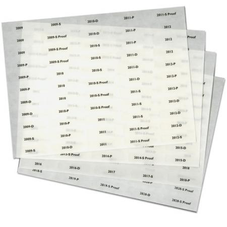 Littleton Folder Date Labels 2009-2020