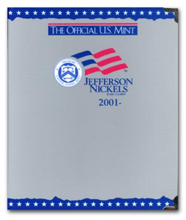 US Mint Album Jefferson Nickels 2001-Date