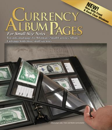 HE Harris Deluxe Currency Pages - Modern Notes