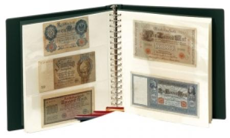 Lindner Banknote Album with Pages and Slipcase