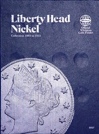 Whitman Folder 9007: Liberty Head Nickels, 1883-1912