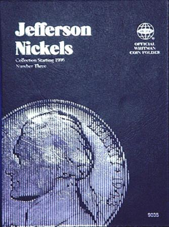 Whitman Folder 9035: Jefferson Nickels No. 3, 1996-Date