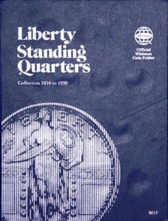 Whitman Folder 9017: Liberty Standing Quarters, 1916-1930