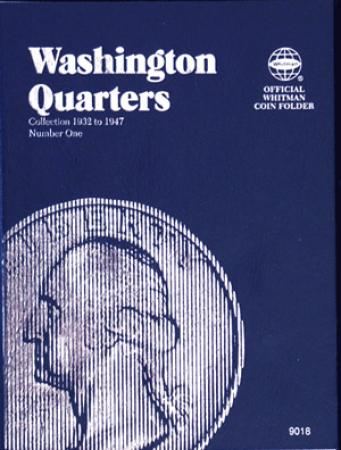 Whitman Folder 9018: Washington Quarters No. 1, 1932-1947