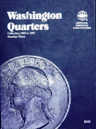 Whitman Folder 9040: Washington Quarters No. 3, 1965-1987
