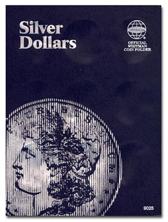 Whitman Folder 9025: Silver Dollars Plain